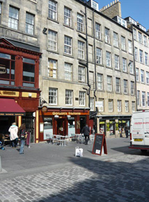 cockburn street self catering accommodation in edinburgh