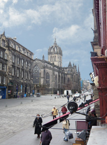 grassmarket edinburgh photo