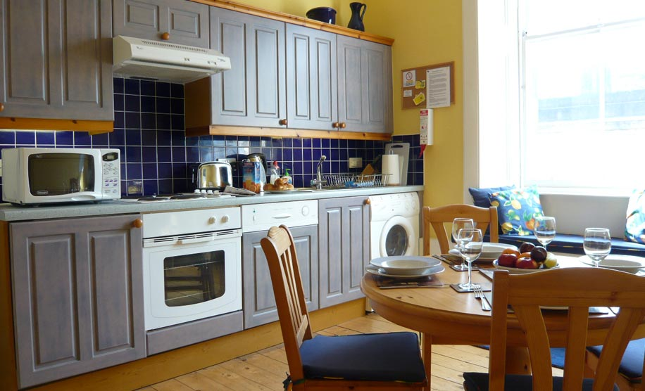 kitchen has 4 star accommodation quality