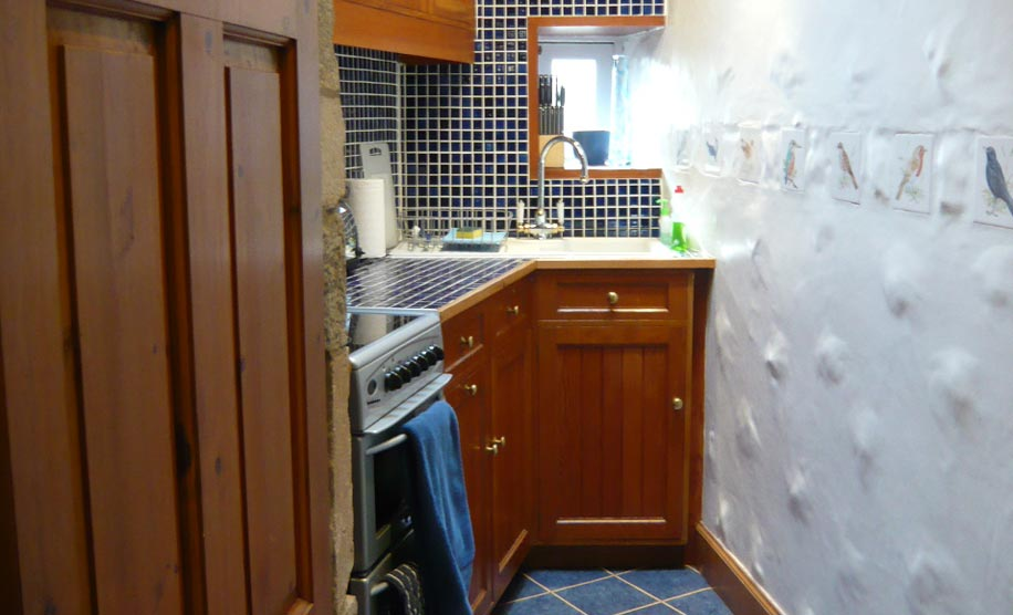 Upper Kitchenette of Edinburgh Landmark, Trust House