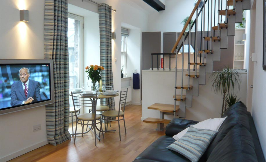 Accommodation in the heart of Edinburgh City Centre